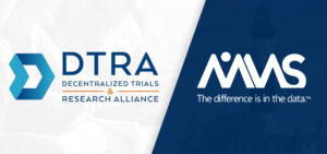 DTRA decentralized trial and research alliance virtual clinical trials pfizer astrazeneca eisai amazon withings accenture amgen astellas avanir biogen BMS csl behring janssen medrio oracle mms holdings roche takeda FDA others